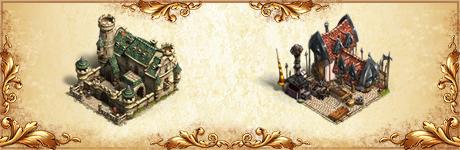Новые казармы и Кузнец оружия